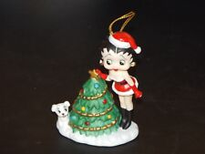 Rare 1999 Betty Boop San Francisco Music Box & Gift Co. Christmas Medley