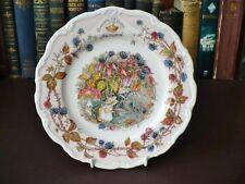 "Royal Doulton, Brambly Hedge Series Plate ""Autumn""  Jill Barklem 1982"