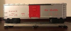 Lionel #9714, D & RGW Boxcar, ca. 1973