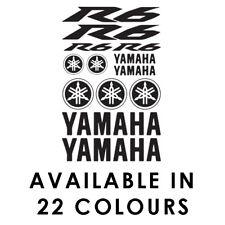 Yamaha R6 Motorbike Sponsor Decal Set Belly Pan Fairings Panniers Tank Sticker