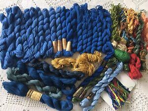 280g Vintage W Germany MEZ ANCHOR KochEcht Cotton Perle Wool Skeins Yarn Thread