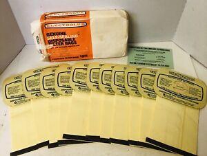 Vintage Electrolux Original Self-Sealing Disposable Filter Bags Lot of 11