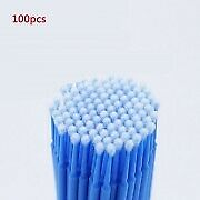 100* Touch Up Paint Micro Mini Brush Large/Small Tips-Micro Applicators Durable