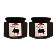 Greek Sweet Fruit Preserve in Syrup  Sour Cherry Net weight 900gr Glass jar