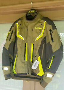 Klim Mens Badlands Jacket Size Large Sage Hi Vis