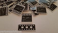 Hollywood FILMSTRIP AND CLAPBOARD CONFETTI Movie Night Party Decoration