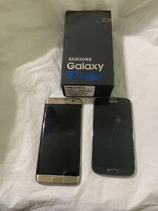 Samsung Galaxy S7,S4edge SM-G935 - 32 GB - Gold Platinum (Verizon) Smartphone