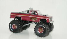 1986 chevy k-20 TAURUS squarebody monster truck 1/64 diecast GREENLIGHT