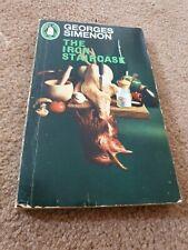 Georges Simenon.Vintage Novel.THE IRON STAIRCASE.1967 Penguin PB Book