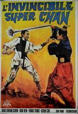 Han Shian Chin THE INVINCIBLE SUPER CHAN TIAN ZHAN 1971 FRENCH POSTER 24x32