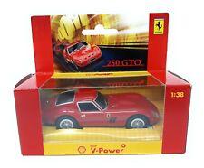 Shell V Power Ferrari 250 GTO red with Sound 1/38 Box