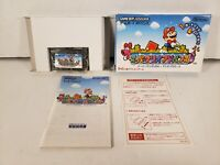 Super Mario Bros. Nintendo Game Boy Advance GBA Japan Import Complete in Box CIB