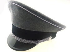 WWII GERMAN ELITE MILITARY ARMY WH GABARDINE CRUSHER CAP 60