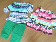 #. Girls Size 6/9 Months Pants & 2 Tops Nwt