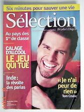 SÉLECTION DU READER'S DIGEST DE SEPTEMBRE 2005, EN COUVERTURE TOM CRUISE