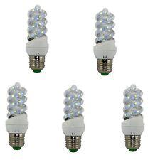 BOMBILLA LED MINI ESPIRAL E27 4000K  5W PACK-5 tecnoluxeuro