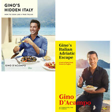 Gino's Italian Adriatic Escape Hidden Italy 2 books collection set pack NEW