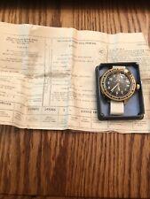 Vintage Vostok KOMANDIRSKIE USSR/Russian Tank Watch with Box and Paperwork! Rare