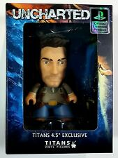 """Titans 4.5 """" Exclusive Collectable Figure Uncharted - Nathan Drake New Original"""