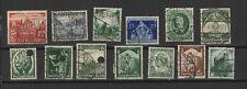 Allemagne Deutsches Reich années 30 13 timbres /T2425