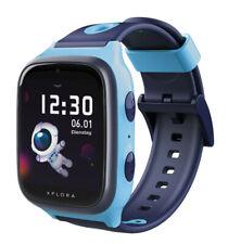 Xplora X4 blau Android Smartwatch wasserdicht Bluetooth GPS