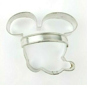 Vintage Walt Disney Mickey Mouse Cookie Cutter Metal w/ Handle Collectible
