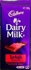 Australian Import Cadbury Turkish Delight Chocolate Bar 200g