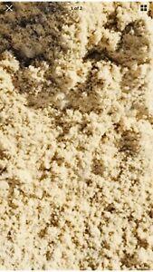 10kg Natural Colour Silica Sand -Fine Grained  - Suitable for Aquariums Fast P&P