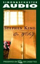 On Writing : A Memoir of the Craft by Stephen King (2000, Cassette, Unabridged)