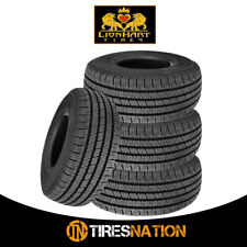 (4) New Lionhart Lionclaw HT 225/60R17 99H All Season Performance Tires