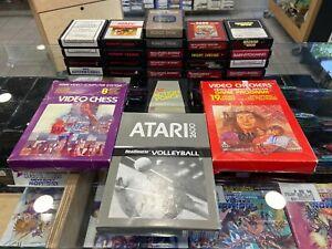 Lot de 25 jeux Atari 2600