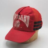 Vintage University of Maryland Mesh Snapback Trucker Farmer Hat Cap tthc