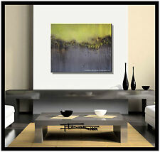 ABSTRACT CANVAS PAINTING MODERN WALL ART Framed Signed US ELOISExxx