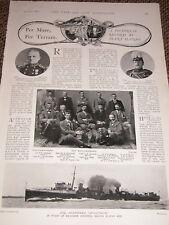 1899 Boer War Old Wellingtonians ~ Destroyer Bouvreuil