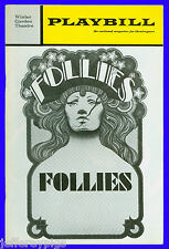 "Playbill "" Follies "" Dorothy Collins , John McMartin, Gene Nelson, Alexis Smith"