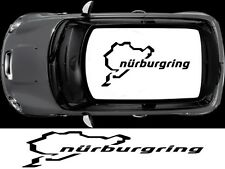 NURBURGRING ROOF DECAL FOR MINI CLUBMAN ONE COUNTRYMAN GRAPHICS DECALS STICKERS