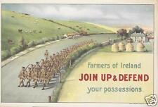 Farmers of Ireland Join Up Irish Poster World War 1, 7x5 inch reprint '