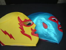 ADULT 2 NACHO LIBRE- FRAY TORMENTA WRESTLING MASKS foamy adulto size