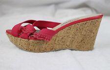 New Salvatore Ferragamo Cork Wedge Platform Heels, Gorgeous Shoes!! 11