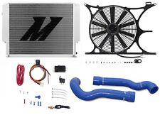 "MISHIMOTO BMW E30/E36 X-Line Radiator+Shroud+Fan+Hose+1/8"" NPT FAN CONTROLLER BL"