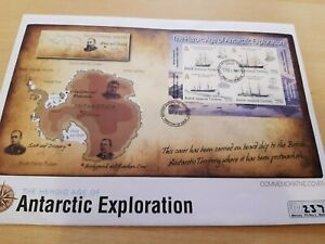 2008 BRITISH ANTARCTIC TERRITORY HEROIC AGE OF ANTARCTIC EXPLORATION FDC
