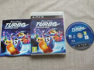 DREAMWORKS TURBO SUPER STUNT SQUAD PS3 PLAYSTATION 3 PREOWNED