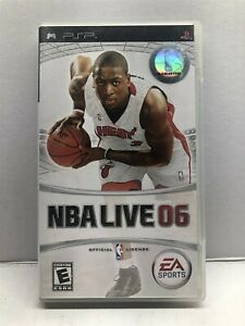 NBA Live 06 (Sony PSP, 2005) Complete Tested Working - Free Ship