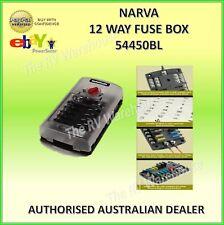 12 Way Fuse Box NARVA New Marine Motorhome Accessories Parts 12V Marine Pt.54450