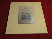 4lp BOX J. S. Bach Passio entrare Matthaeum MATTHAUS Passion Karl Richter