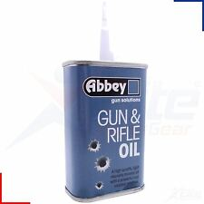 Abbey Gun & Rifle Oil Lubricant Shotgun Airgun Air Pistol Lube 125ml