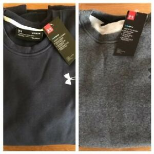 Under Armour Men's Golf Sweatshirt. Navy Blue or Grey. Medium or Large.