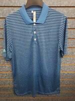 Adidas Golf Performance Short Sleeve Blur Polo Shirt Men's Sz M