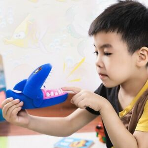 Kids Toy Cute Shark Teeth Extraction Shark Bite Finger Adult Tricky Party Game