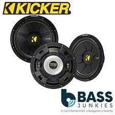 "Kicker CWCS124 - CompC 12"" 600 Watts 4 Ohm Single Voice Coil SVC Car Subwoofer"